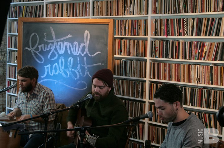 Frightened Rabbit - Brooklyn Art Library