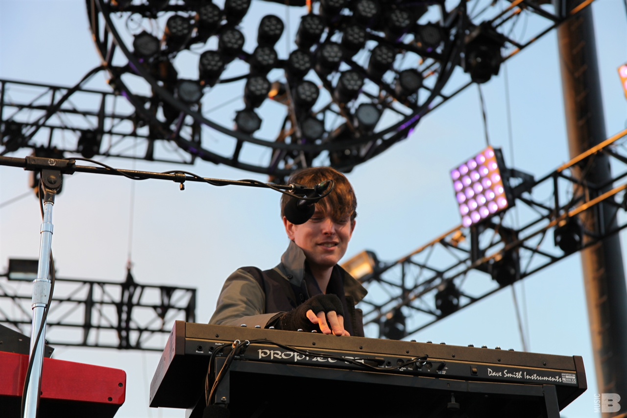 James Blake - Treasure Island Fesival